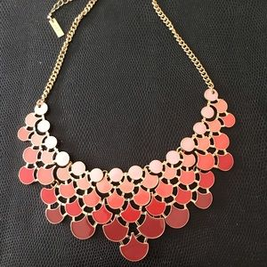 Mika Brand Necklace in Ombré Muave